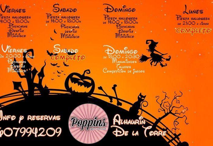 Halloween en Poppis de Alhaurín de la Torre