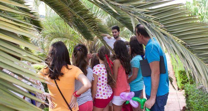 Visitas escolares al Jardín Botánico de la Universidad de Málaga