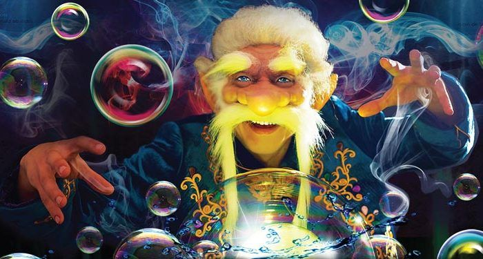 Espectáculo Magia con burbujas para niños en Málaga, Estepona y Sevilla