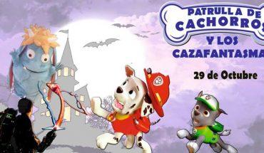 Musical interactivo para niños con la Patrulla de Cachorros y los cazafantasmas en Málaga