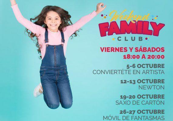Talleres infantiles gratuitos en Larios Centro Málaga en octubre