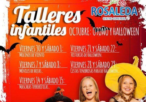 Talleres infantiles centro comercial Rosaleda