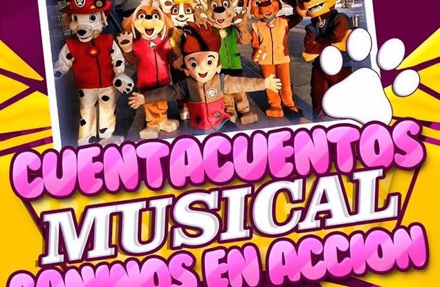 Cuentacuentos musical Caninos en acción