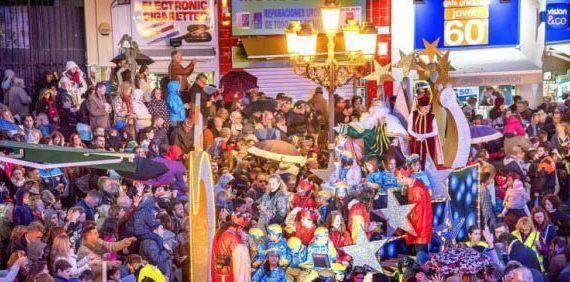Cabalgata de Reyes Magos Torremolinos