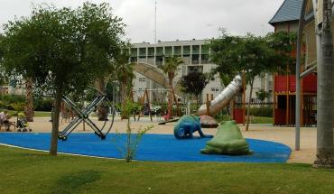 El biblioparque de los cuentos se desplaza por Málaga