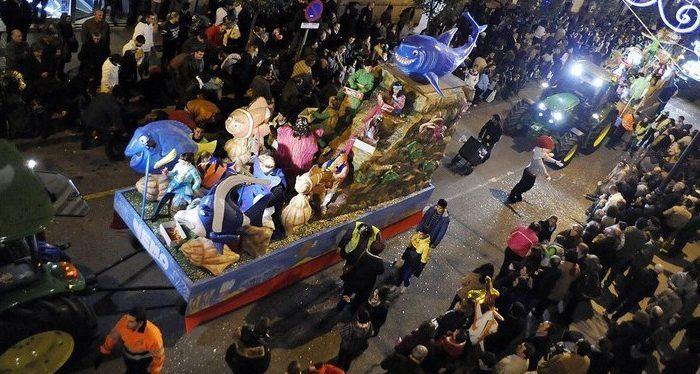 Cabalgata Reyes Magos Antequera