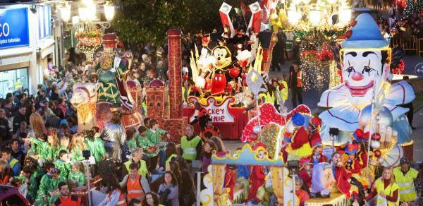 Cabalgata de de los Reyes Magos en Benalmádena