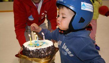 Cumpleaños en el Club de Hielo de Benalmádena