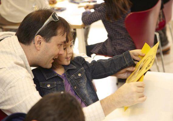 Día en familia en el Museo Picasso de Málaga
