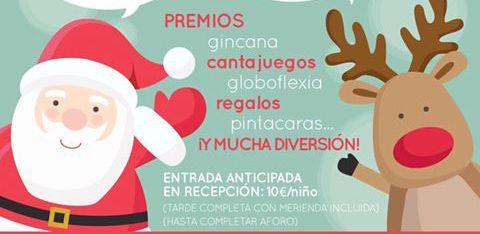 Fiesta de Navidad en Málaga