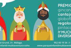Fiesta infantil en Navidad en Málaga