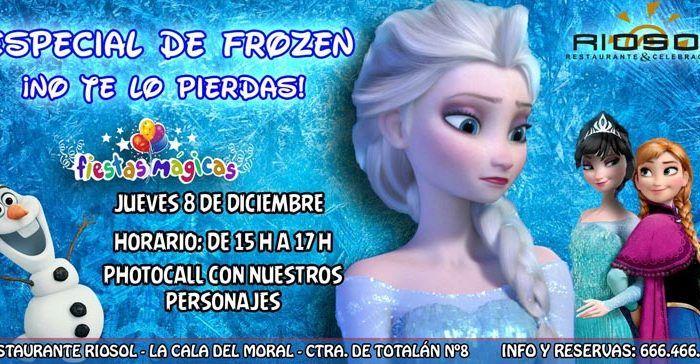 Fiesta infantil Frozen en Riosol