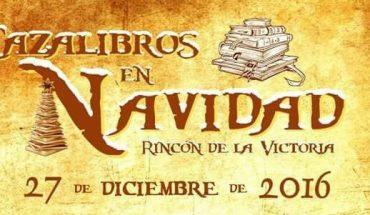 Cazalibros de Navidad en Rincón de la Victoria