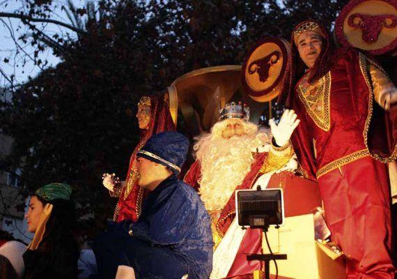 Cabalgata de los Reyes Magos en Marbella