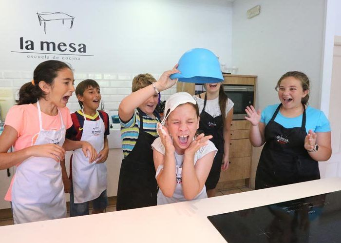 escuela de cocina infantil La Mesa Málaga