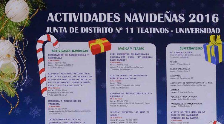 Actividades en Navidad en Teatinos