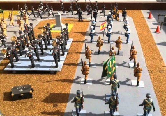 Exposición de soldaditos de plomo en Málaga