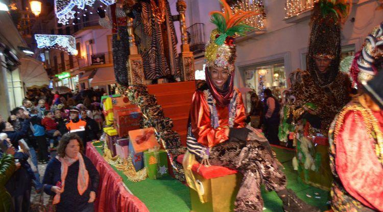 Cabalgata de Reyes Magos en Nerja 2017