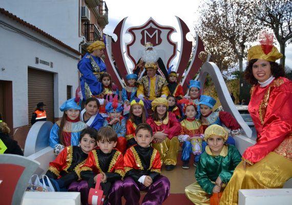 Cabalgata Reyes Magos en Alhaurín de la Torre 2017
