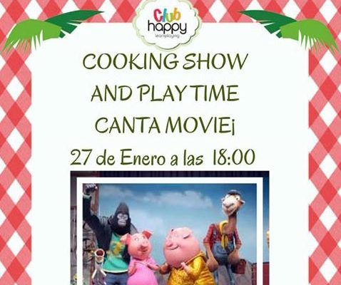 Cooking Show en el Club Happy Málaga