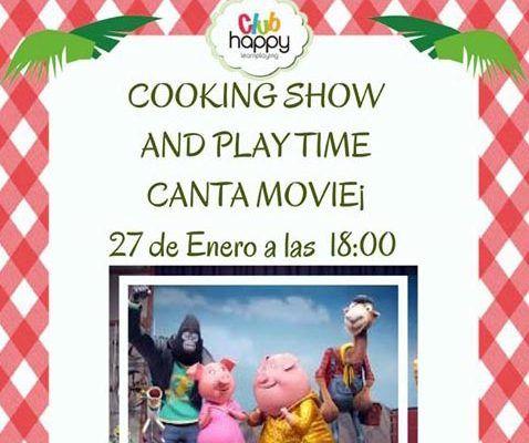 Cooking Show en el Club Happy Málaga