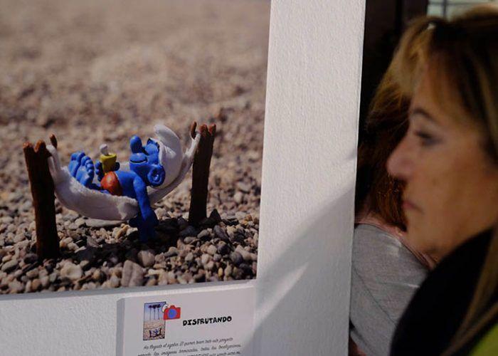 Exposición Pitufos Málaga