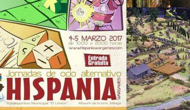 Hispania War Games jornadas ocio juegos de mesa