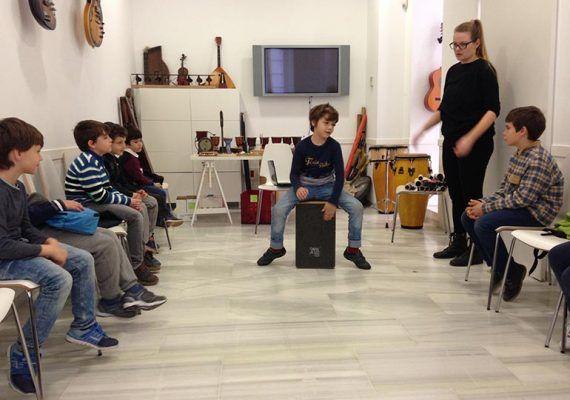 Campamento infantil de Semana Blanca en el MIMMA de Málaga