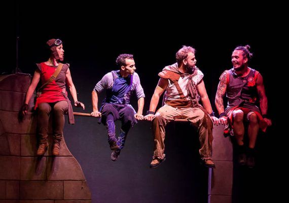 Vaivén circo Deshábitat teatro Cánovas
