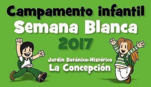 semana blanca Jardín Botánico Málaga