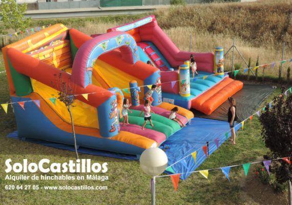 Alquila castillos hinchables para tu evento infantil en la provincia de Málaga