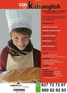 Taller de cocina en inglés para niños
