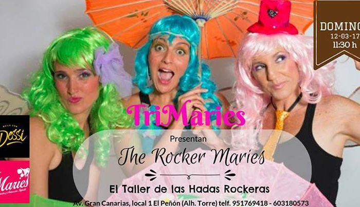 espectáculo infantil The Rocker Maries Alhaurín de la Torre