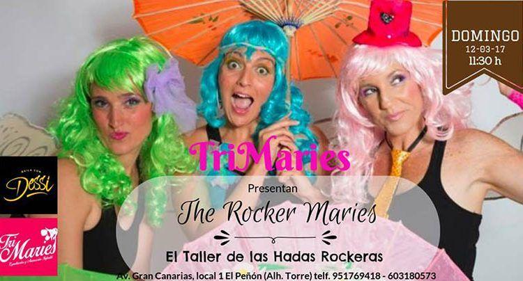 espectáculo infantil The Rocker Maries Alhaurín de la Torre