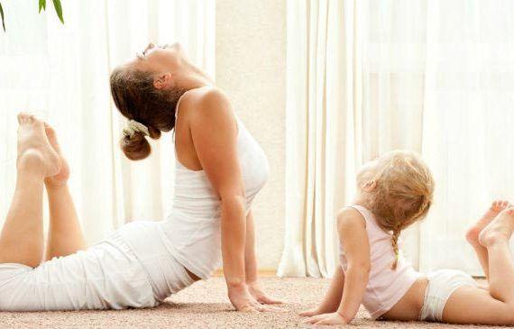 Yoga para niños, bebés, embarazadas y familias