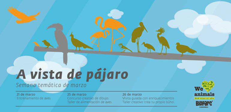 Actividades para niños en marzo Bioparc Fuengirola