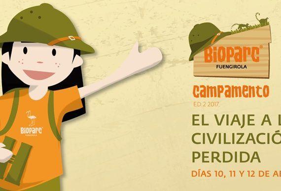 Campamento de aventura para niños en la Semana Santa de Bioparc Fuengirola