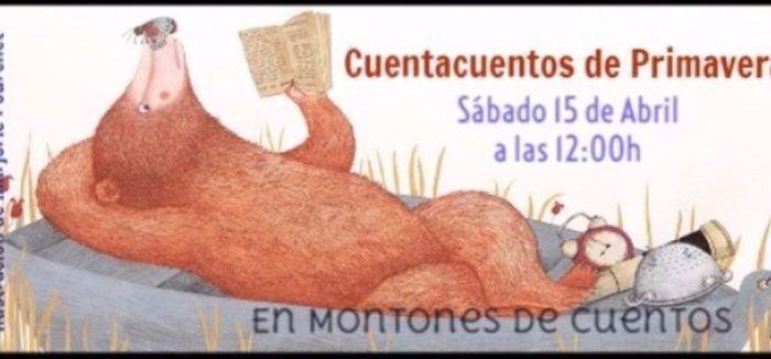 Cuentacuentos para niños en la librería Montones de Cuentos de Marbella