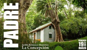 Día del Padre en el Jardín Botánico de La Concepción de Málaga