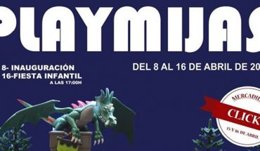Exposición solidaria de clicks de Playmobil en Mijas