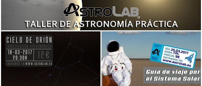 Fines de semana astronómicos para niños en marzo con AstroLab
