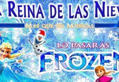 teatro musical Frozen para niños en Marbella