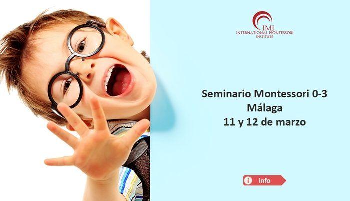 Seminario en Educación Montessori en Málaga