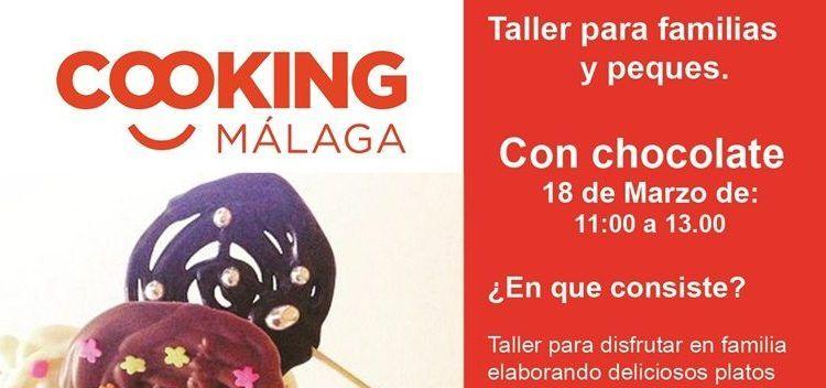 Taller cocina con chocolate para niños en Málaga