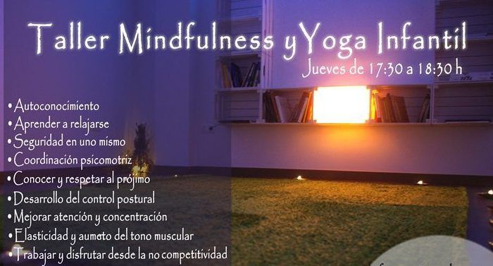 Taller de mindfulness y yoga para niños ArqueoRutas en Málaga