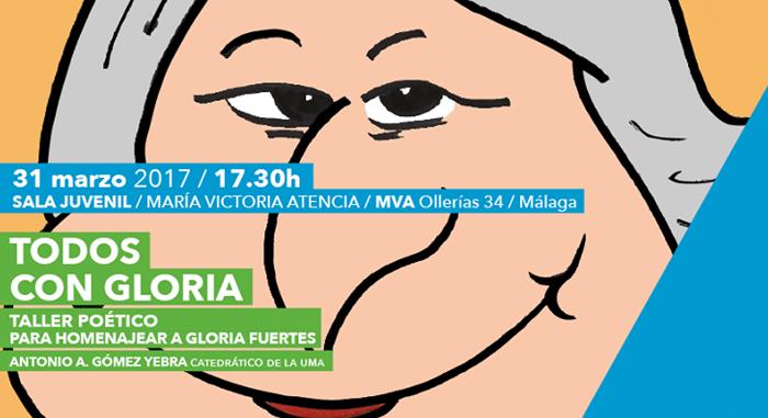 Taller poético para niños homenaje a Gloria Fuertes en la Biblioteca Cánovas Málaga