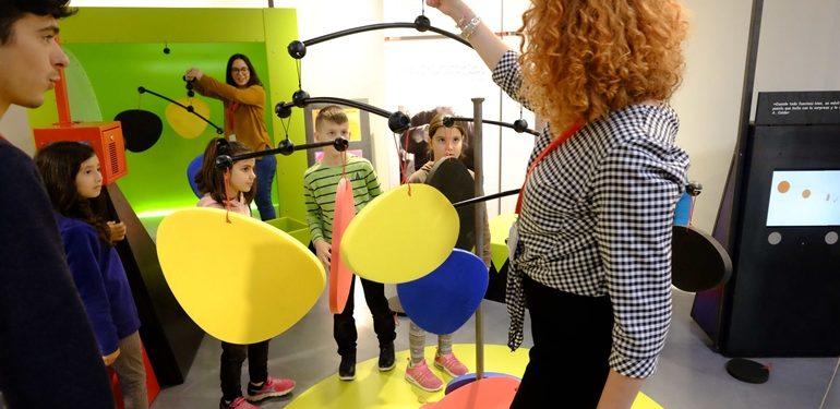 Talleres para niños en el Centre Pompidou de Málaga
