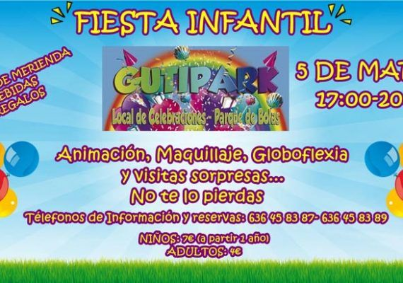 Fiesta infantil en Málaga