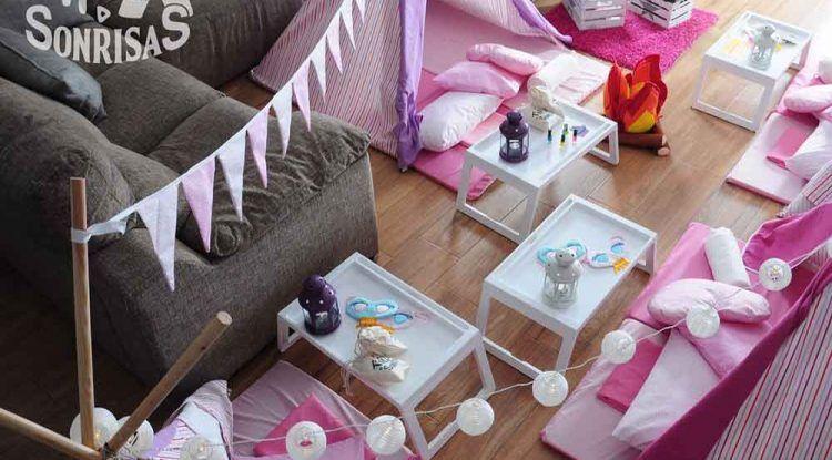 Cumpleaños y fiestas de pijamas originales para niños con Tipi Sonrisas Costa del Sol