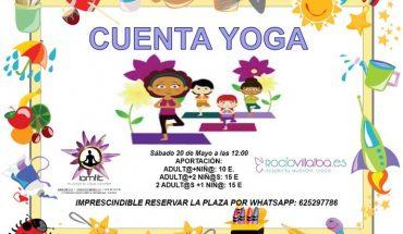 Cuentos y yoga en Málaga